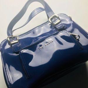 Blue Patent Leather Ted Baker Handbag
